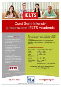 Corsi-Semi-Intensivi - preparazione IELTS Academic