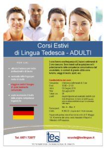 Corso di lingua tedesca per adulti
